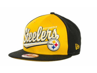 Pittsburgh Steelers NFL ScriptTailz Snapback 9FIFTY Cap Hats