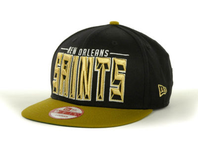 New Orleans Saints NFL Three Deep 9FIFTY Cap Hats
