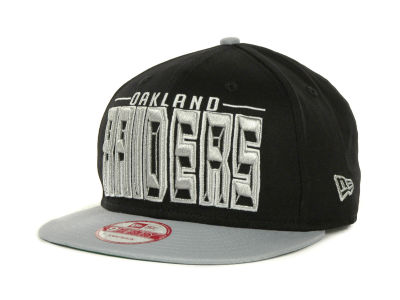 Oakland Raiders NFL Three Deep 9FIFTY Cap Hats