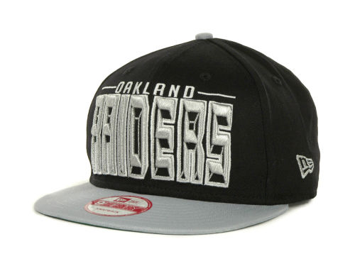 Oakland Raiders New Era NFL Three Deep 9FIFTY Cap Hats