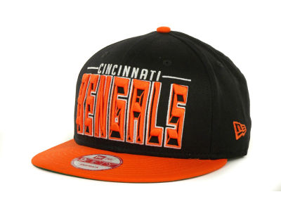 Cincinnati Bengals NFL Three Deep 9FIFTY Cap Hats