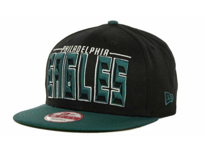 Philadelphia Eagles NFL Three Deep 9FIFTY Cap Hats