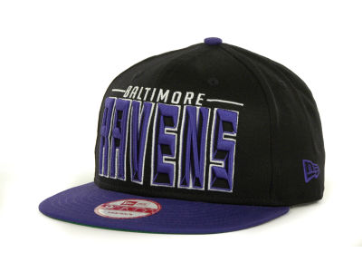 Baltimore Ravens NFL Three Deep 9FIFTY Cap Hats