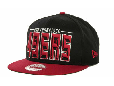 San Francisco 49ers NFL Three Deep 9FIFTY Cap Hats
