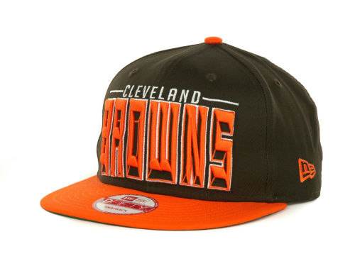 Cleveland Browns New Era NFL Three Deep 9FIFTY Cap Hats