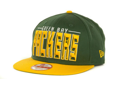Green Bay Packers NFL Three Deep 9FIFTY Cap Hats