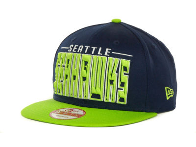 Seattle Seahawks NFL Three Deep 9FIFTY Cap Hats