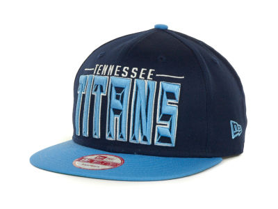 Tennessee Titans NFL Three Deep 9FIFTY Cap Hats