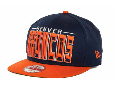Denver Broncos NFL Three Deep 9FIFTY Cap Hats