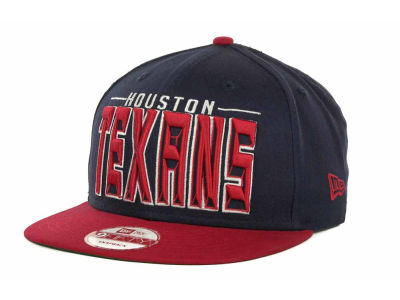 Houston Texans NFL Three Deep 9FIFTY Cap Hats