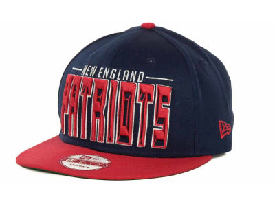 New England Patriots NFL Three Deep 9FIFTY Cap Hats