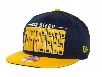 San Diego Chargers NFL Three Deep 9FIFTY Cap Hats