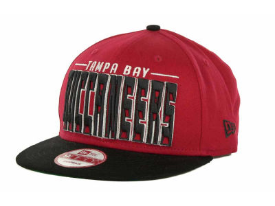 Tampa Bay Buccaneers NFL Three Deep 9FIFTY Cap Hats