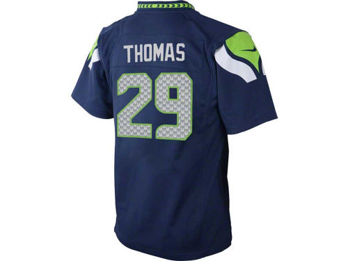 Seattle Seahawks Earl Thomas III Nike NFL Kids Game Jersey