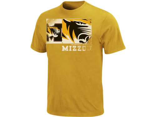 Missouri Tigers VF Licensed Sports Group NCAA Half Court Heave T-Shirt