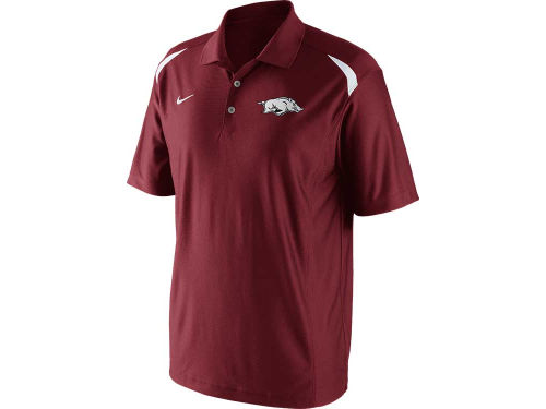 Arkansas Razorbacks Nike NCAA Basketball Polo 2012