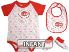 Cincinnati Reds Infant MLB Triple Play 3 Piece Set Infant Apparel