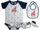 Cleveland Indians Infant MLB Triple Play 3 Piece Set Infant Apparel