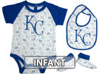 Kansas City Royals Infant MLB Triple Play 3 Piece Set Infant Apparel