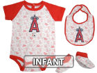 Los Angeles Angels of Anaheim Infant MLB Triple Play 3 Piece Set Infant Apparel