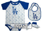 Los Angeles Dodgers Infant MLB Triple Play 3 Piece Set Infant Apparel