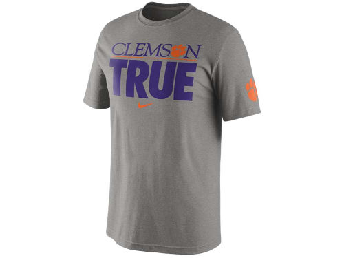 Clemson Tigers Nike NCAA Basketball True T-Shirt