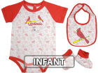 St. Louis Cardinals Infant MLB Triple Play 3 Piece Set Infant Apparel