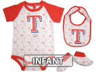 Texas Rangers Infant MLB Triple Play 3 Piece Set Infant Apparel