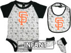 San Francisco Giants Infant MLB Triple Play 3 Piece Set Infant Apparel