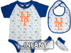 New York Mets Infant MLB Triple Play 3 Piece Set Infant Apparel
