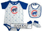 Chicago Cubs Infant MLB Triple Play 3 Piece Set Infant Apparel