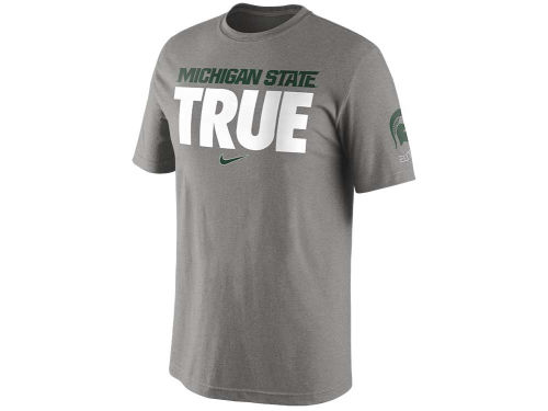 Michigan State Spartans Nike NCAA Basketball True T-Shirt