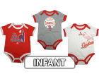 St. Louis Cardinals Infant MLB Bases Loaded 3 Piece Set Infant Apparel