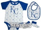Kansas City Royals MLB Newborn Triple Play 3 Piece Set Infant Apparel