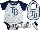 Tampa Bay Rays MLB Newborn Triple Play 3 Piece Set Infant Apparel