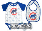Chicago Cubs MLB Newborn Triple Play 3 Piece Set Infant Apparel