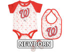 Washington Nationals MLB Newborn Triple Play 3 Piece Set Infant Apparel