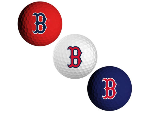 Boston Red Sox Team Golf 3pk Golf Ball Set