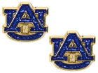 Auburn Tigers Aminco Inc. Glitter Post Earrings Aminco Jewelry