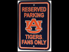 Auburn Tigers Parking Sign Home Office & School Supplies