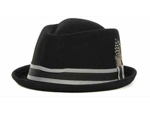LIDS Private Label PL Felt Pork Pie With Grosgrain Band 2012 Hats