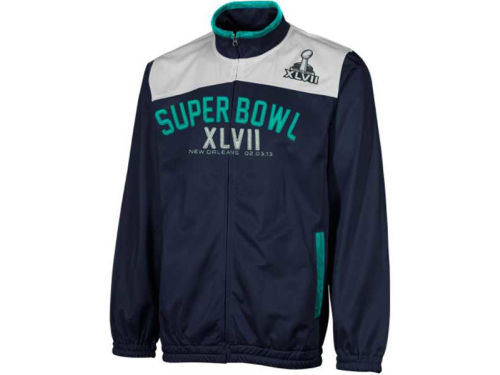 Super Bowl XLVII GIII NFL Super Bowl XLVII Light Weight Track Jacket