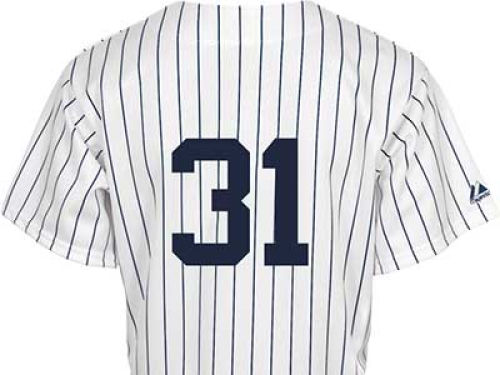 New York Yankees Ichiro Suzuki Majestic MLB Youth Replica Jersey