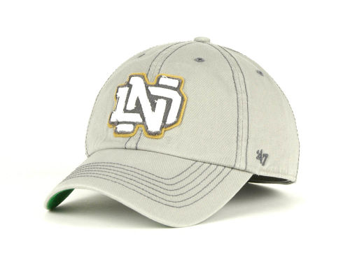 Notre Dame Fighting Irish '47 Brand NCAA Monolith Franchise Cap Hats