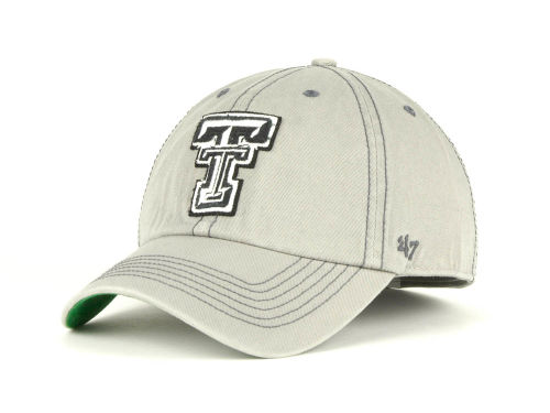 Texas Tech Red Raiders '47 Brand NCAA Monolith Franchise Cap Hats