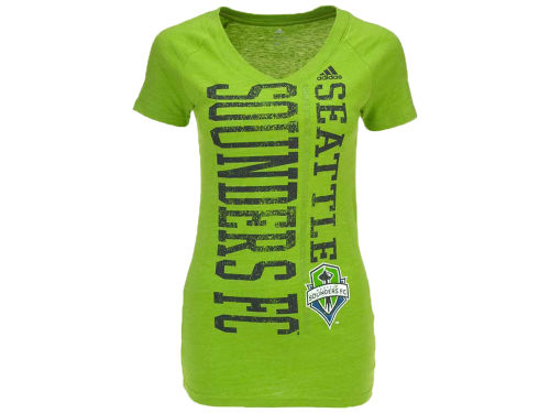Seattle Sounders FC adidas MLS Womens Girls Get Down T-Shirt