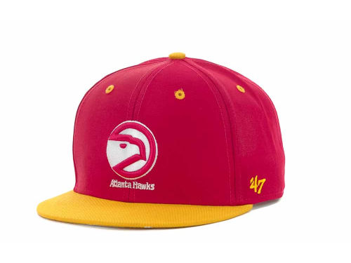 Atlanta Hawks '47 Brand NBA Youth Hardwood Classics Oath II Cap Hats