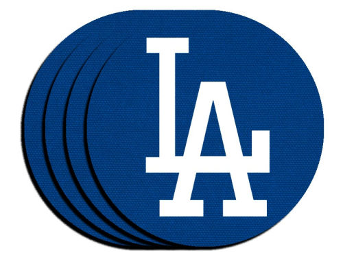 Los Angeles Dodgers 4-pack Neoprene Coaster Set