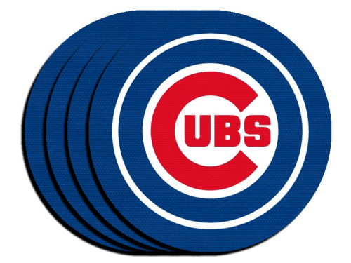 Chicago Cubs 4pk Neoprene Coaster Set