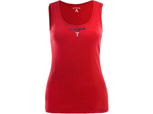 Texas Rangers Antigua MLB Womens Fan Tank